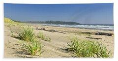 Pacific Ocean Shore On Vancouver Island Bath Towel