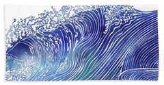 Pacific Waves Bath Towel