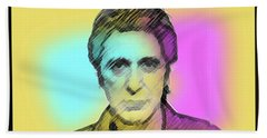 Pacino Sketch  Bath Towel