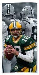 Packers Aaron Rodgers Hand Towel