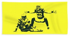 Packers Clay Matthews Sack Hand Towel