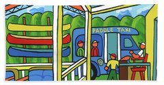 Paddle Taxi - Rum 138 Bath Towel