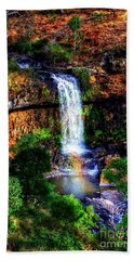 Hand Towel featuring the photograph Paddy's Falls by Blair Stuart