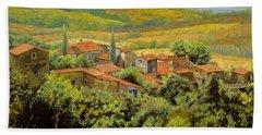 Paesaggio Toscano Hand Towel