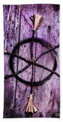 Pagan Or Witchcraft Symbol For A Gathering Bath Towel