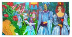 Pageant - Alice In Wonderland Hand Towel