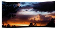 Pagosa Sunset 11-20-2014 Hand Towel