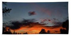 Pagosa Sunset 11-30-2014 Hand Towel