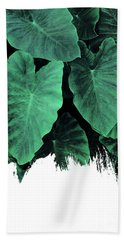 Paint On Jungle Bath Towel