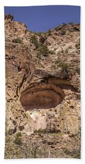 Painted Cave Ancient Art Hand Towel