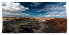 Bath Towel featuring the photograph Painted Desert by Charles Ables