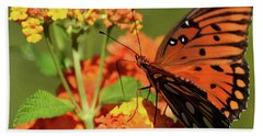 Painted Fall Colors Hand Towel