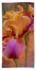 Painted Goddess - Iris Bath Towel