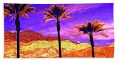Painted Hills Bath Towel
