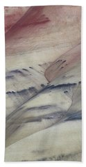 Painted Hills Textures 2 Hand Towel by Leland D Howard