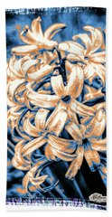 Painted Hyacinth Bath Towel