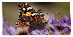 Painted Lady Hand Towel