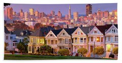 Painted Lady's  Hand Towel