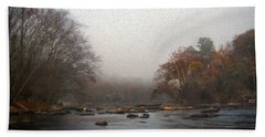 Painted Late Fall On The Saluda Hand Towel