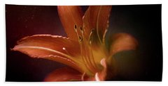 Painted Lily Bath Towel