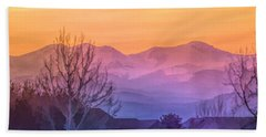 Painted Mountains Hand Towel