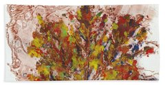Painted Nature 3 Bath Towel