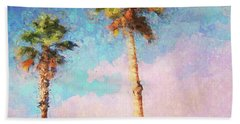 Painted Palms Hand Towel