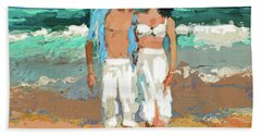 Pair By The Sea Hand Towel