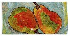 Pair Of Pears Hand Towel