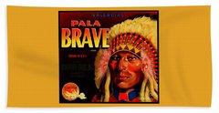 Pala Brave 1920s Sunkist Oranges Hand Towel