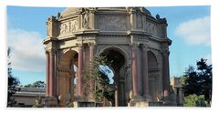 Bath Towel featuring the photograph Palace Of Fine Arts by Steven Spak
