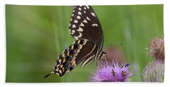 Palamedes Swallowtail And Friends Bath Towel