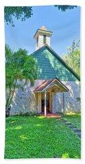 Palapala Ho'omau Congregational Church Bath Towel