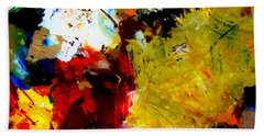 Palette Abstract Square Bath Towel