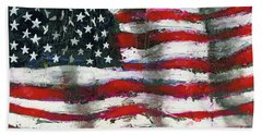 Palette Flag Bath Towel