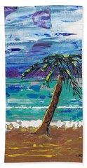 Palm Beach Bath Towel by J R Seymour