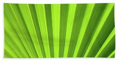 Palm Leaf Abstract Bath Towel