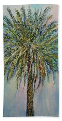 Palm Hand Towel by Michael Creese