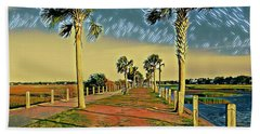Palm Parkway Hand Towel