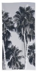 Palm Springs Palm Trees- Art By Linda Woods Bath Towel