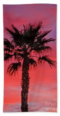 Palm Sunset Hand Towel