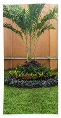 Palm Tree Garden Bath Towel