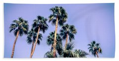 Palm Trees Palm Springs Summer Hand Towel