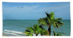 Palms At Vero Beach Hand Towel