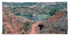 Palo Duro Canyon Bath Towel
