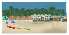 Palolem Beach Goa Bath Towel