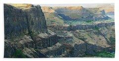 Palouse River Canyon Buttes Hand Towel