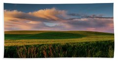 Palouse Tree Of Life Bath Towel by Dan Mihai