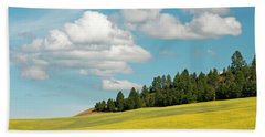 Palouse Treeline Bath Towel