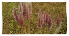 Bath Towel featuring the photograph Pampas Grass by Athala Carole Bruckner